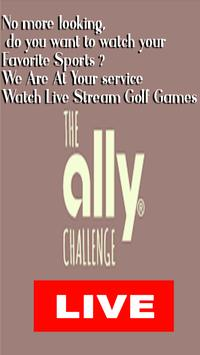 Watch The Ally Live Challenge Golf Tournament HD screenshot 1
