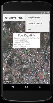 GPSmovil Track screenshot 2