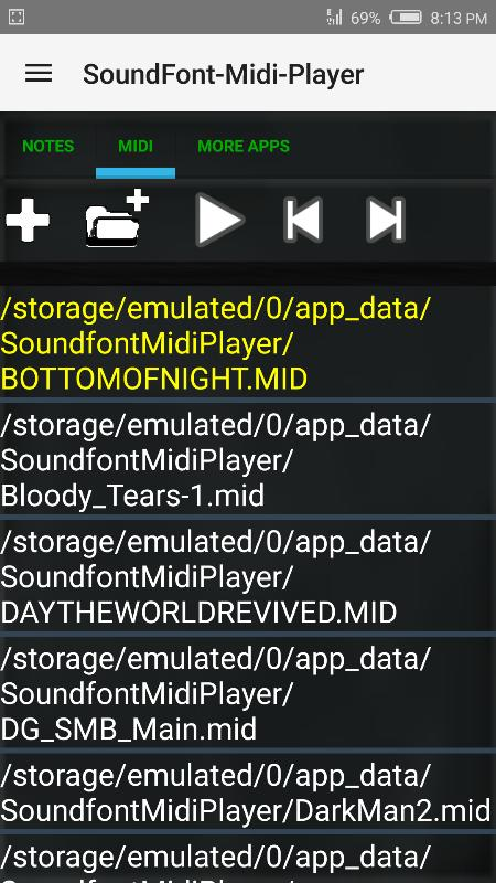 SoundFont-MidiPlayer USB MIDI for Android - APK Download