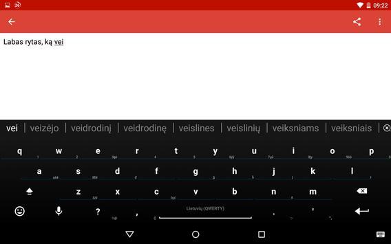 Lithuanian for AnySoftKeyboard screenshot 12