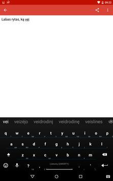 Lithuanian for AnySoftKeyboard screenshot 13