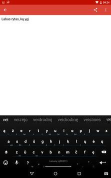 Lithuanian for AnySoftKeyboard screenshot 9