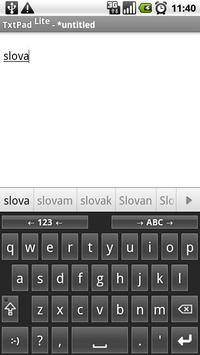 Slovak for AnySoftKeyboard poster