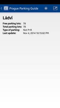 Prague Parking Guide screenshot 1