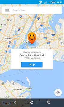 Sahte GPS konum - Hola gönderen