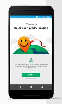 Sahte GPS konum - Hola Ekran Görüntüsü 4