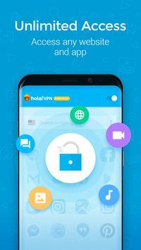Hola VPN Proxy Plus screenshot 1