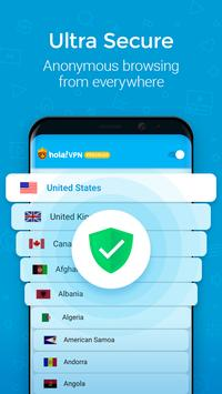 Hola VPN Proxy Plus screenshot 2