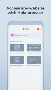 Hola Free VPN Proxy 截圖 1