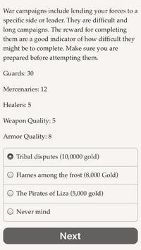 Life of a Mercenary screenshot 5