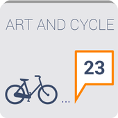 art&cycle icon