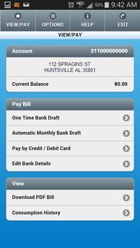 Huntsville Utilities App screenshot 1