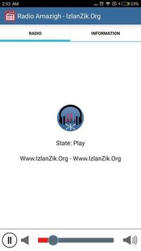 Radio IzlanZik.Org - Radio Amazigh screenshot 1