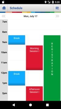 IETF Schedule Application screenshot 1