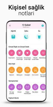Regl Takvimi Flo - Adet Takvimi, Yumurtlama Günü Ekran Görüntüsü 5