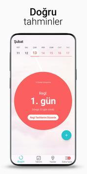 Regl Takvimi Flo - Adet Takvimi, Yumurtlama Günü Ekran Görüntüsü 1