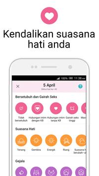 Kalender Menstruasi Flo - Ovulasi, Kehamilan, Haid screenshot 5