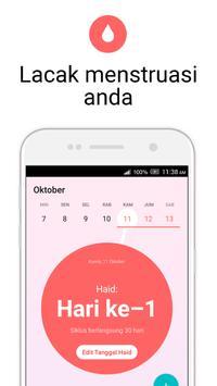 Kalender Menstruasi Flo - Ovulasi, Kehamilan, Haid screenshot 1