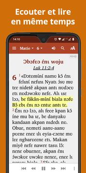 Bible in Abidji - New Testament with audio poster