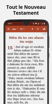 Bible in Abidji - New Testament with audio screenshot 1