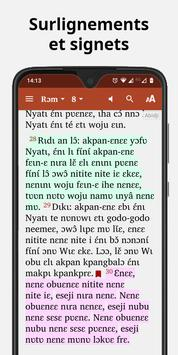 Bible in Abidji - New Testament with audio screenshot 4