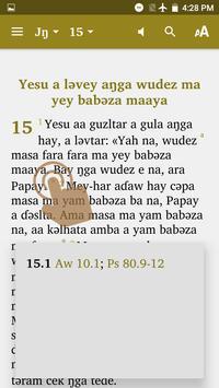 Mofu-Godur Bible screenshot 2