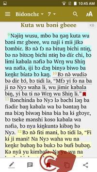 Kemedzung Bible screenshot 3