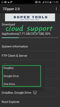 7Zipper 2.0 スクリーンショット 1