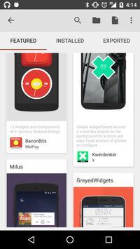 KWGT Kustom Widget Maker captura de pantalla 10