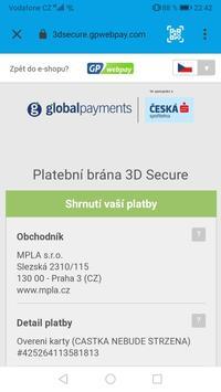 Parkování Pardubice screenshot 3
