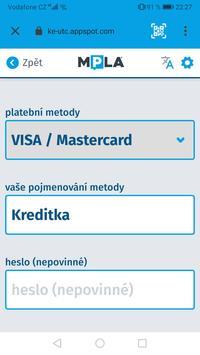 Parkování Pardubice screenshot 2