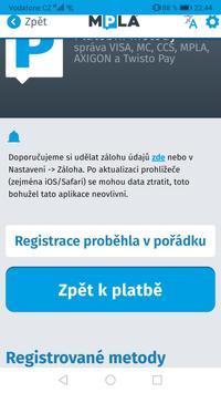 Parkování Pardubice screenshot 4