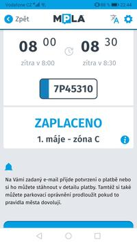 Parkování Pardubice screenshot 5