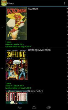 Challenger Comics Viewer capture d'écran 7