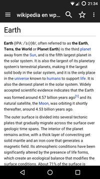 Kiwix, Wikipedia offline 스크린샷 1