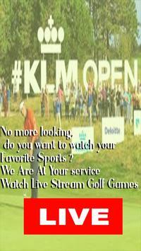 Watch KLM Open 2019 Live,  HD European Tour Direct poster