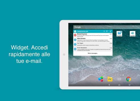 20 Schermata Aqua Mail Pro Key