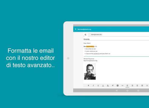 9 Schermata Aqua Mail Pro Key