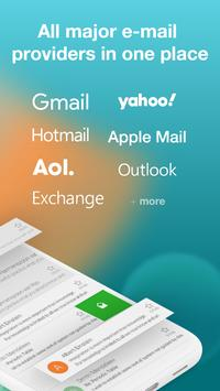 Email Aqua Mail - Exchange, SMIME, Smart inbox screenshot 1