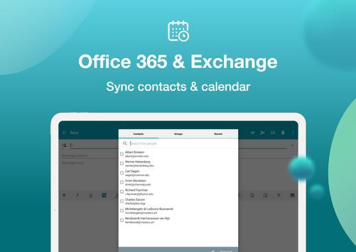 Email Aqua Mail - Exchange, SMIME, Smart inbox screenshot 22