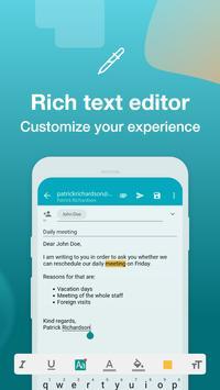 Email Aqua Mail - Exchange, SMIME, Smart inbox screenshot 4