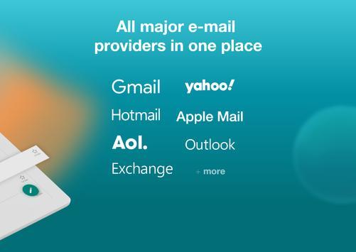Email Aqua Mail - Exchange, SMIME, Smart inbox screenshot 9