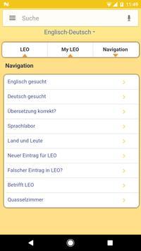 Diccionario LEO captura de pantalla 4