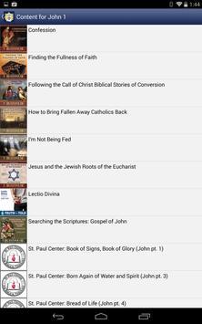 Catholic Study Bible App screenshot 21