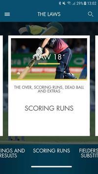 Official Laws of Cricket ảnh chụp màn hình 2
