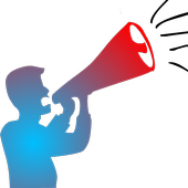 Microphone Mic-to-Loudspeaker icon
