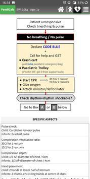 PaediCalc screenshot 2