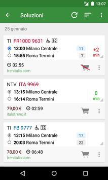 1 Schermata Orario Treni