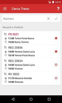 Train Timetable Italy capture d'écran 4