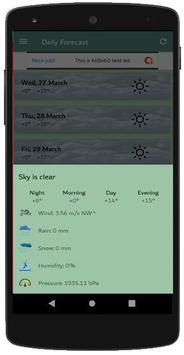 Weather Forecast screenshot 7